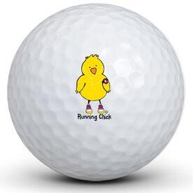 Running Chick Golf Balls