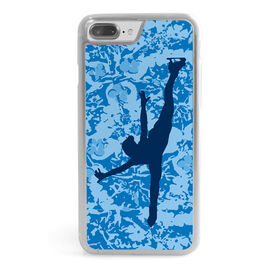 Figure Skating iPhone® Case - Spiral