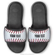 Baseball Repwell® Sandal Straps - Personalized Baseball Stitches