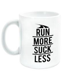 Running Coffee Mug - Run More Suck Less