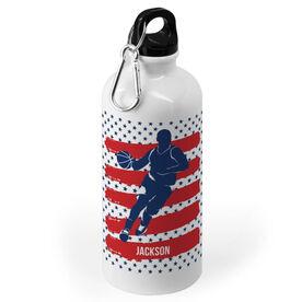 Basketball 20 oz. Stainless Steel Water Bottle - USA Baller