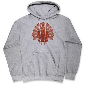 Girls Lacrosse Standard Sweatshirt - Turkey Player