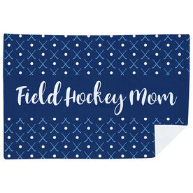 Field Hockey Premium Blanket - Mom Stripe
