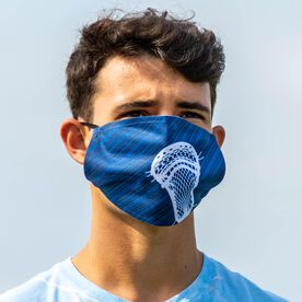 Guys Lacrosse Face Mask - Lightning Lacrosse