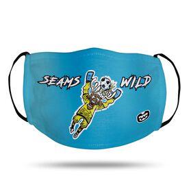 Seams Wild Soccer Face Mask - Blockler