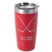 Hockey 20 oz. Double Insulated Tumbler - Crossed Sticks Icon