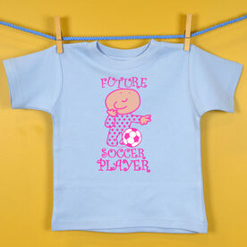 Baby T-Shirt Future Soccer Player Girl