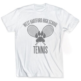 Vintage Tennis T-Shirt - Personalized Logo