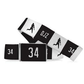 Baseball Lifestyle Belt Personalized Batter