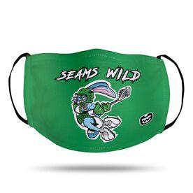 Seams Wild Lacrosse Face Mask - Jumpin' Jack