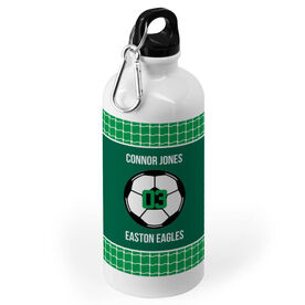 Soccer 20 oz. Stainless Steel Water Bottle - Team With Ball