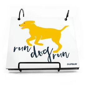 BibFOLIO® Race Bib Album - Run Dog Run