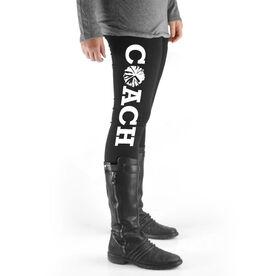 Cheerleading High Print Leggings - Coach