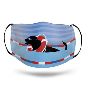 Swimming Face Mask - Finn The Swim Dog Pool