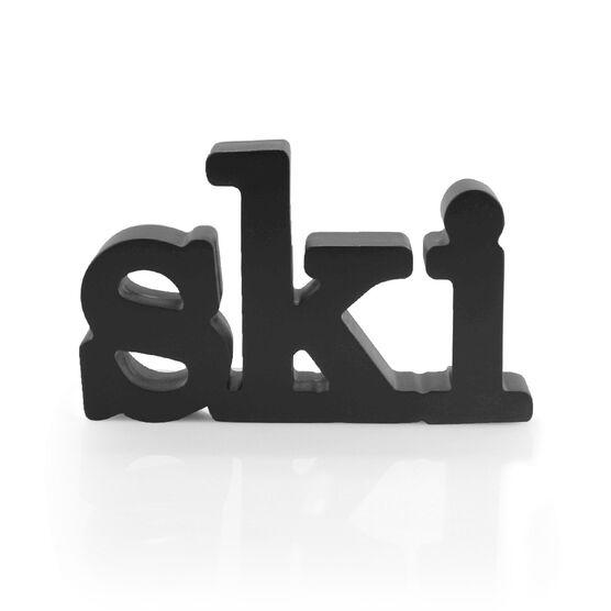 Skiing Wood Words - Ski