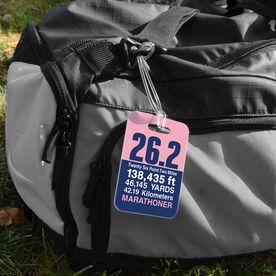 Running Bag/Luggage Tag - 26.2 Math Miles