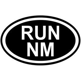 Vinyl Decal Run New Mexico