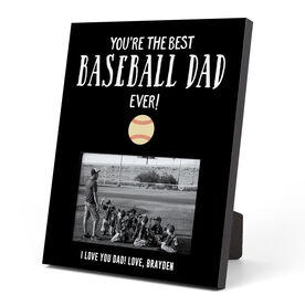 Baseball Photo Frame - You're The Best Dad Ever