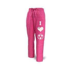 Soccer Lounge Pants I Heart Soccer