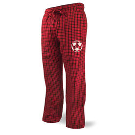 Soccer Lounge Pants Soccer Ball Icon