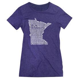 Women's Everyday Runners Tee Minnesota State Runner