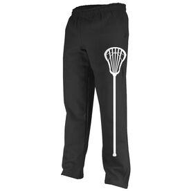 Lacrosse Stick Fleece Sweatpants