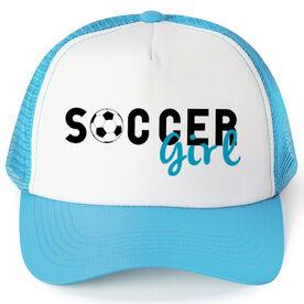 Soccer Trucker Hat Girl