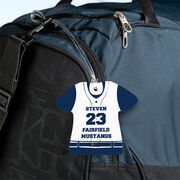 Baseball Jersey Bag/Luggage Tag - Personalized Jersey