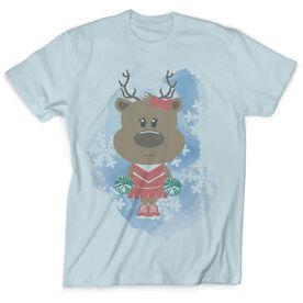 Vintage Cheerleading T-Shirt - Reindeer Cheer