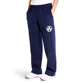 Soccer Fleece Sweatpants - Soccer Ball