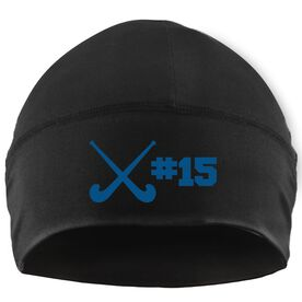 Beanie Performance Hat - Personalized Field Hockey Team Number