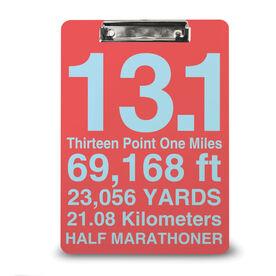 Running Custom Clipboard 13.1 Math Miles