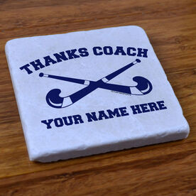 Thanks Coach Field Hockey - Stone Coaster