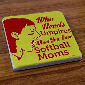 Who Needs Umpires - Stone Coaster