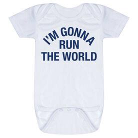 Running Baby One-Piece - I'm Gonna Run The World