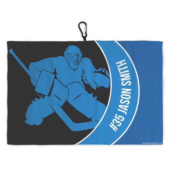 Hockey Skate Towel Hockey Player Goalie