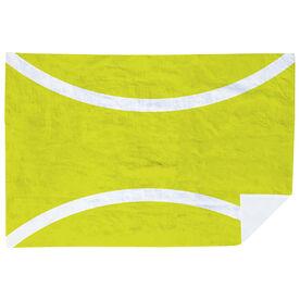 Tennis Premium Blanket - Horizontal Ball