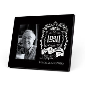 Personalized Photo Frame - Vintage Wine Label