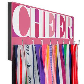 Cheerleading Hooked on Medals Hanger - Cheerleading Mosaic