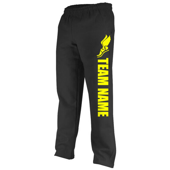 Track and Field Fleece Sweatpants Team Name