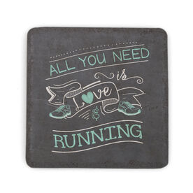 Running Stone Coaster - All You Need Is Love