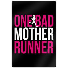 """Running 18"""" X 12"""" Wall Art - One Bad Mother Runner"""