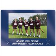 "Field Hockey 18"" X 12"" Aluminum Room Sign - Team Photo"
