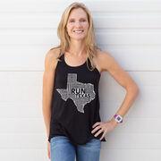 Flowy Racerback Tank Top - Texas