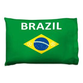 Soccer Pillowcase - Brazil