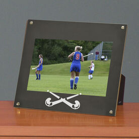 Field Hockey Photo Display Frame Field Hockey Crossed Sticks