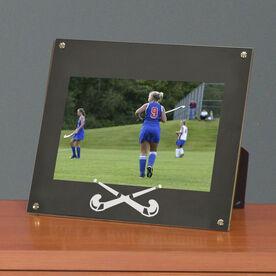 Field Hockey Photo Display Frame Field Hockey Crossed Sticks