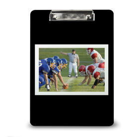 Football Custom Clipboard Football Your Photo Solid Background