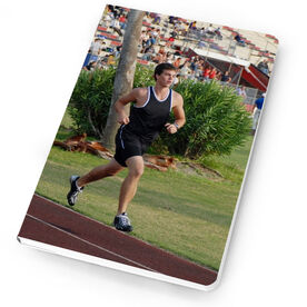 Track & Field Notebook Custom Photo