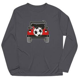 Soccer Long Sleeve Performance Tee - Soccer Cruiser